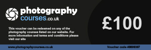 Photography Courses UK : £100 Gift Voucher