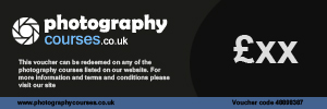 Photography Courses UK : Custom Gift Voucher